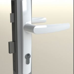 DS1600/5 Swan French Door Furniture